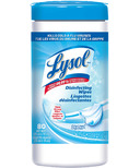 Lysol Disinfecting Wipes Crisp Linen