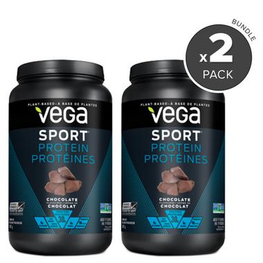 Vega Sport Protein Chocolate Flavour 2 Pack Bundle
