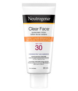Neutrogena Clear Face Sunscreen Lotion SPF 30