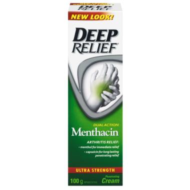 Deep Relief Dual Action Menthacin Arthritis Relief Rub