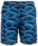 Appaman Mid Length Swim Trunks Wave Pool