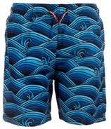 Appaman Mid Length Swim Trunks Wave Pool