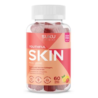 SUKU Vitamins Youthful Skin Strawberry Lemon
