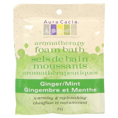 Aura Cacia Ginger Mint Foam Bath