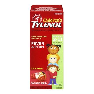 Tylenol Children\'s Fever & Pain Suspension Liquid