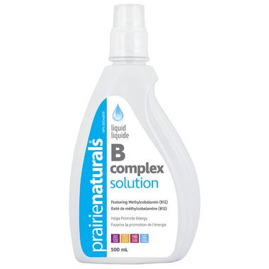 Prairie Naturals Liquid B Complex Solution