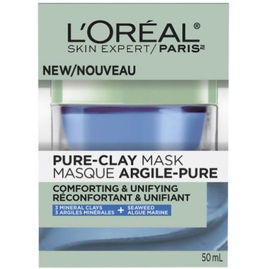 L\'Oreal Comforting & Unifying Pure Clay Mask