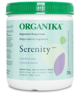 Organika Serenity Magnesium Bisglycinate Lavender & Mint