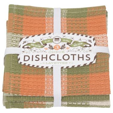Now Designs Dishcloth Set Harvest Check
