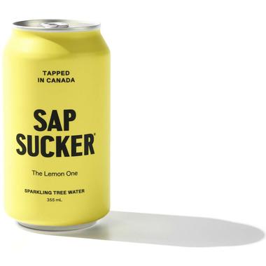 Sapsucker The Lemon One Organic Sparkling Tree Water