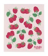 Now Designs Ecologie Swedish Sponge Cloth Raspberries