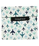Keep Leaf Organic Cotton Baggie Large Planes