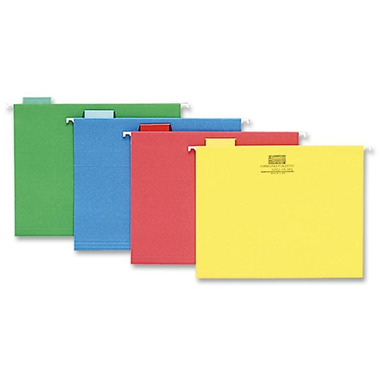 Sparco Coloured Hanging File Folders