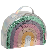 A Little Lovely Company Cool Bag Rainbow Sequins