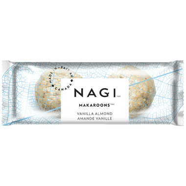 NAGI Makaroon Energy Balls Vanilla Almond