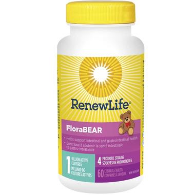 Renew Life FloraBEAR 1 Billion Active Cultures