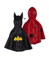 Great Pretenders Reversible Spider & Bat Toddler Cape Size 2-3T
