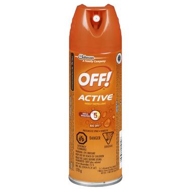 OFF! Active Aerosol Insect Repellent