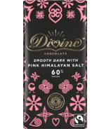 Divine Chocolate Dark Chocolate with Pink Himalayan Salt 60% Cocoa