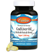 Carlson Cod Liver Oil Super 1000 mg Small