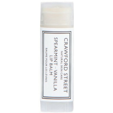 Crawford Street Spearmint-Vanilla Lip Balm
