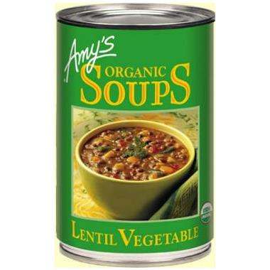 Amy\'s Organic Lentil Vegetable Soup