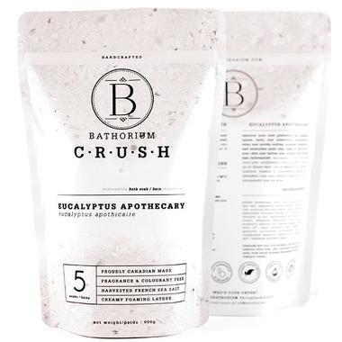 Bathorium CRUSH Eucalyptus Apothecary Rejuvenating Bath Soak Duo Pack