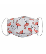 Snug As A Bug Cloth Face Mask Flamingo