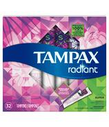 Tampax Radiant Super Plastic Tampons