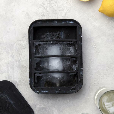 W&P Design Collins Ice Tray Marble Black