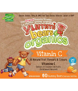 Hero Nutritionals Yummi Bears Organic Vitamin C