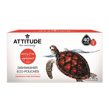 ATTITUDE Dishwasher Eco-Pouches