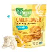 From the Ground up Cauliflower Snacking Cracker Sea Salt