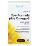 Rexall AREDS 2 Formule pour les yeux plus oméga-3
