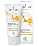 ATTITUDE Sensitive Skin Hand Cream Moisturize & Revitalize Argan