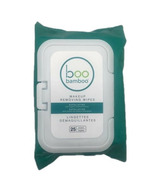 Boo Bamboo Exfoliating & Makeup Removing Wipes