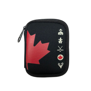 MYTAGALONGS Canadiana Ear Bud Case