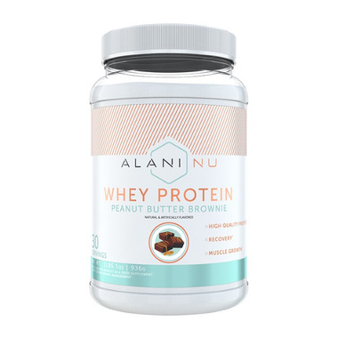Alani Nu Whey Protein Peanut Butter Brownie