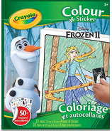 Crayola Frozen ll Colour & Sticker Pages