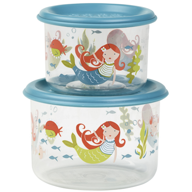 Sugarbooger Good Lunch Small Snack Containers Isla the Mermaid