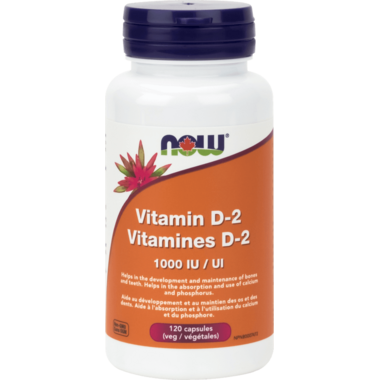 NOW Foods Vegetarian & Dry Vitamin D-2 1000 IU