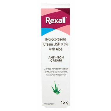 Rexall Hydrocortisone Anti-Itch Cream with Aloe