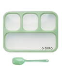 o bnto Bento Box 4 Compartment Moss Green