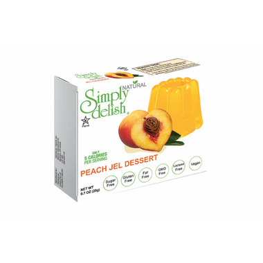 Simply Delish Peach Jelly Dessert
