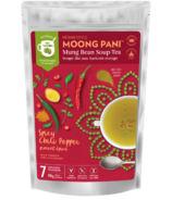 Moong Pani Soup-Tea Spicy Chili Pepper With Turmeric