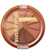 Rimmel London Sunshimmer 3-in-1 Shimmering Bronzer Bronze Goddess