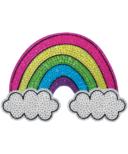 iScream Rainbow & Clouds Rhinestone Decal