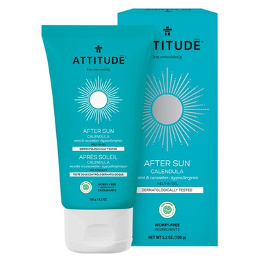 ATTITUDE After Sun Melt In Gel Mint And Cucumber