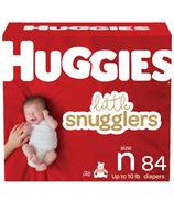 Huggies couches petits doudounes