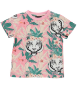 BIRDZ Children & Co. Girlz Flower Tiger Tee